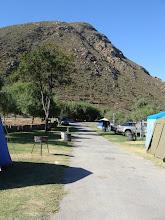Photo: Die kamp net onder Skurwekop.