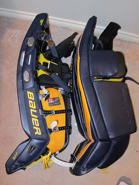 Bauer TotalOne Pads Review - Goalie Store Bulletin Board