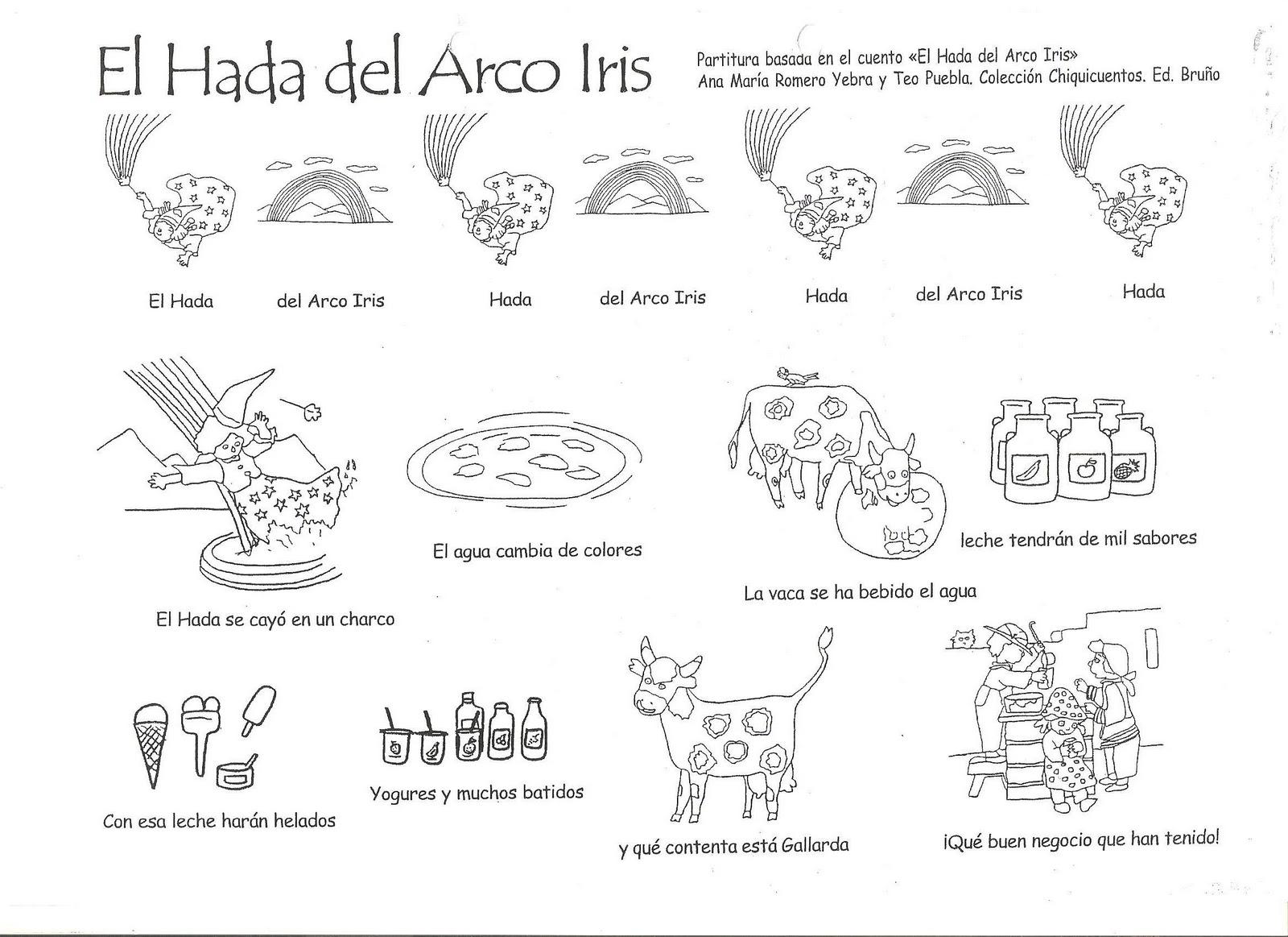 UN ARCOIRIS EN EL CASTILLO: EL HADA DEL ARCO IRIS