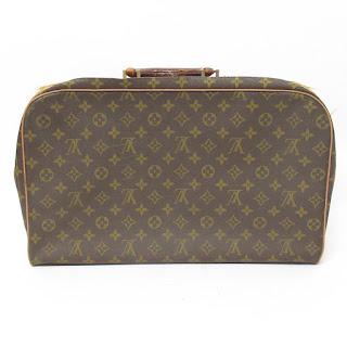 Vintage Monogram Louis Vuitton Suitcase