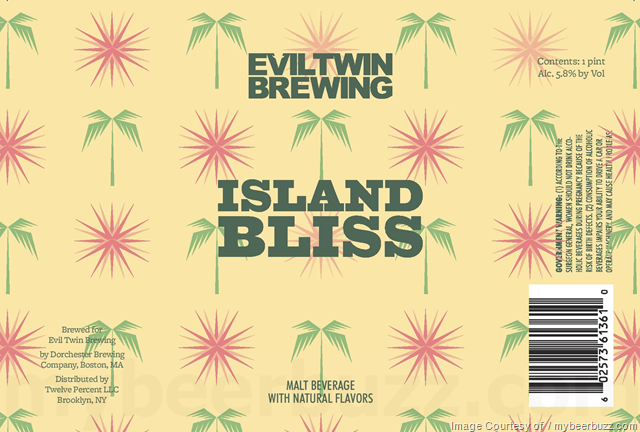 Evil Twin - Island Bliss 16oz Cans
