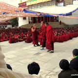 Massive religious gathering and enthronement of Dalai Lama's portrait in Lithang, Tibet. - l31.JPG