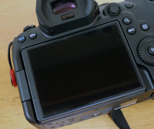 Canon EOS R6用 ガラスフィルム