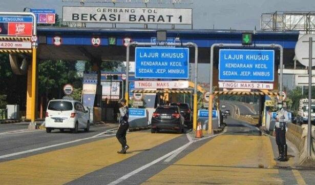 DKI Resmi Lakukan PSBB, Dishub Kota Bekasi Berjaga di Akses Menuju DKI