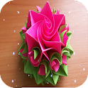 Origami Flower Step By Step icon