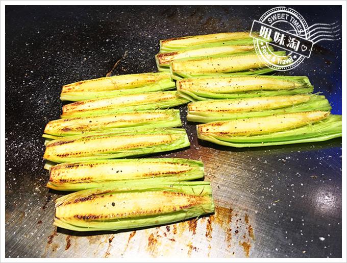 食事食堂玉米筍