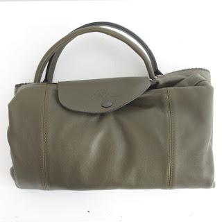 Longchamp Green Duffel Bag