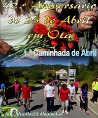42.º Aniv 25 ABR - 2016 - Caminhada
