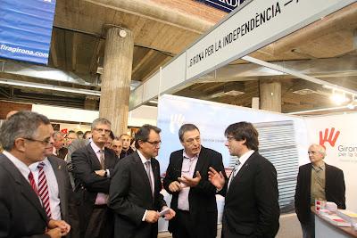 28/10/11 Inauguració de la Fira de Mostres de Girona. FOTO: PERE DURAN