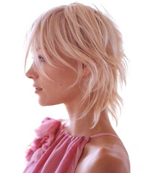 Dark Cute Short Layered Haircut for Women