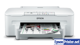 How to Reset Epson WorkForce WF-3011 flashing lights error