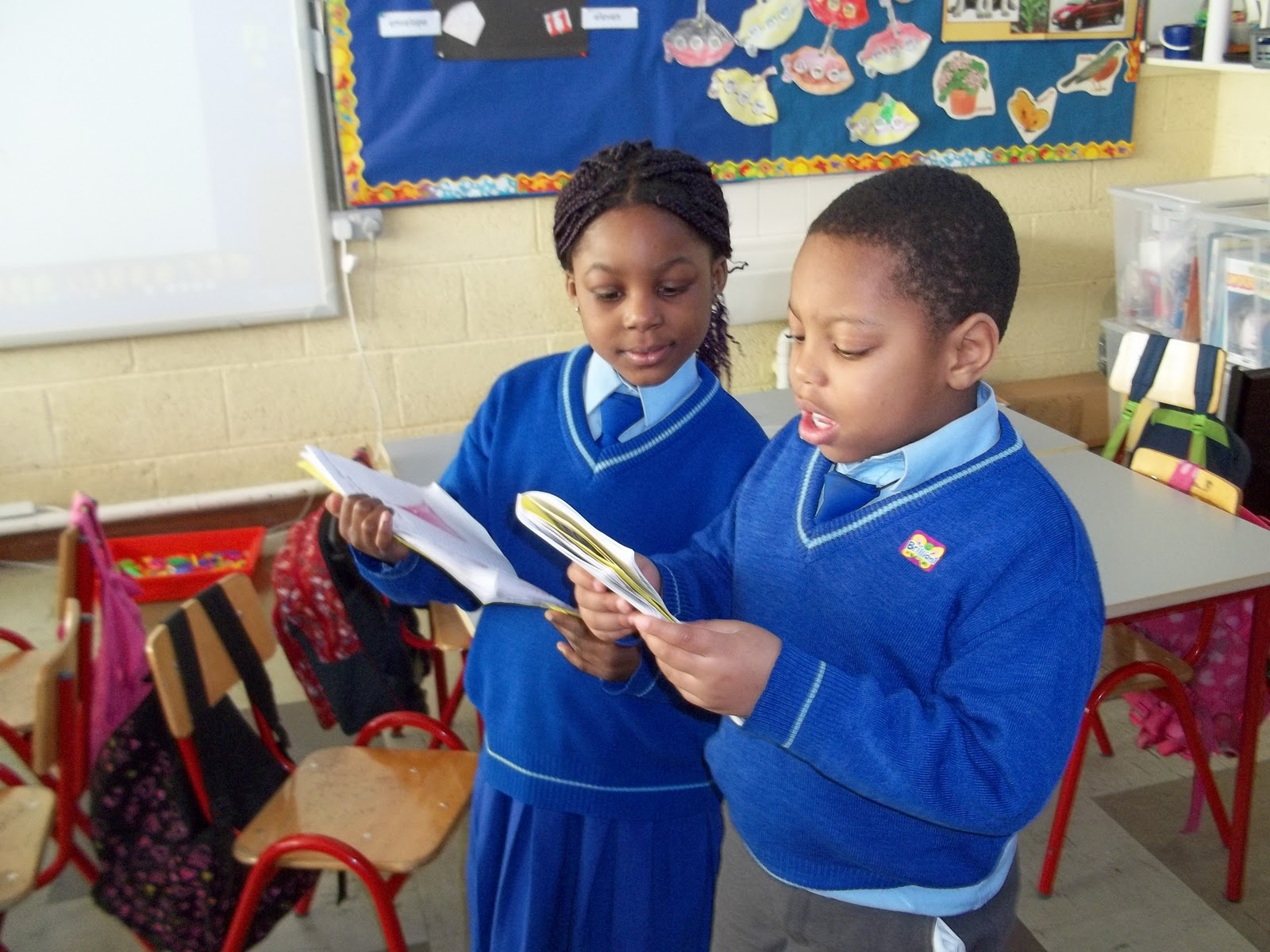 Literacy Site Free Writing In Senior Infants