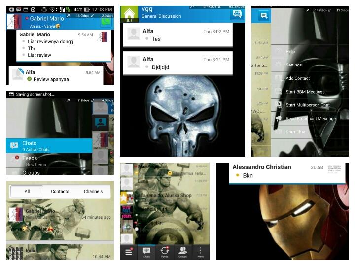 Guide: cara mengganti background BBM via PC