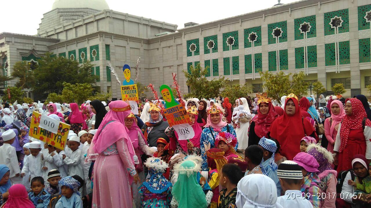 Peserta Karnaval Hijriyah Tahun 2017/1439 H