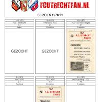FCU Programmaboekjes
