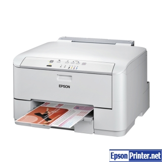 How to reset Epson WorkForce WP-4022 printer