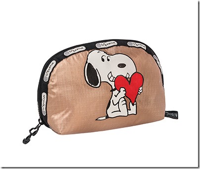 Peanuts X LeSportsac 8170 Medium Dome Cosmetic 01
