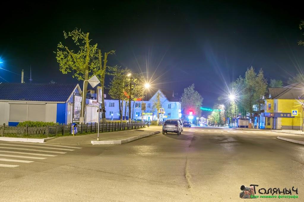 Ночной Суворов. Проспект Мира