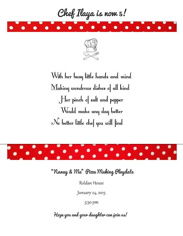 Ilayas 5th invite