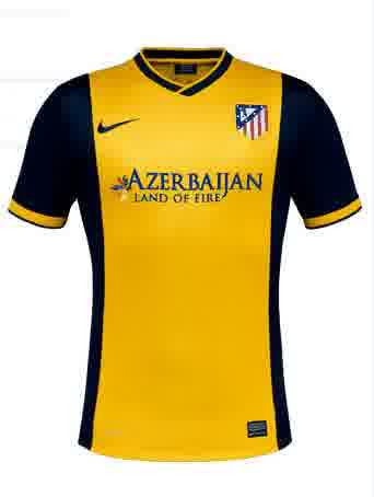 Jual Jersey Atletico Madrid Away Terbaru 2014