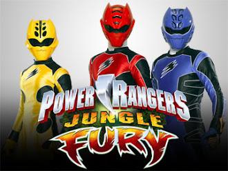Siêu Nhân Rừng Xanh - Power Rangers Jungle Fury 2013 Poster