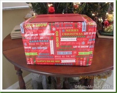 Christmas Parcel arrives in Florida