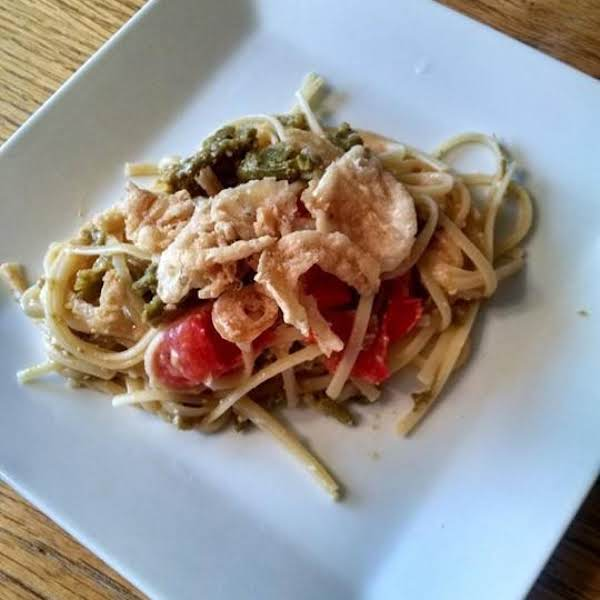 Pasta With Asparagus And Tomatoes