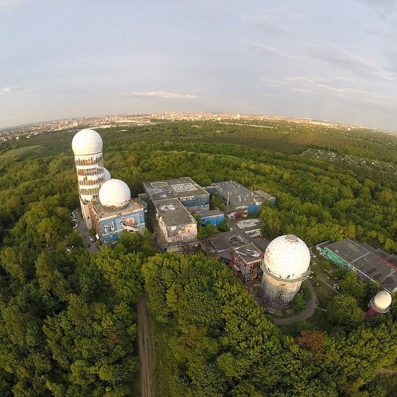 The Abandoned NSA Listening Station at Teufelsberg, Berlin