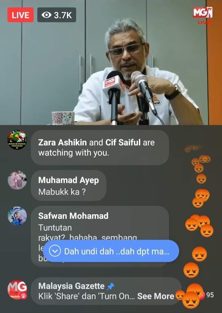 Ramai Benci Dan Marah Khalid Samad Di media sosial. Betul kah?