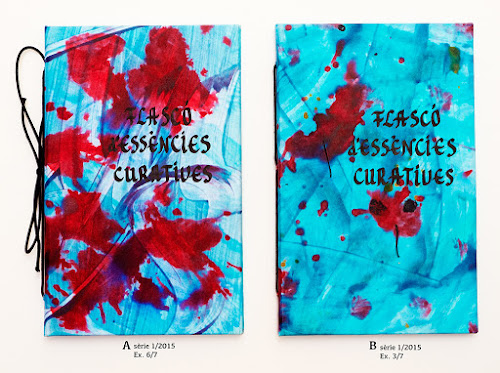 Dos exemplars del Flascó d'essències curatives