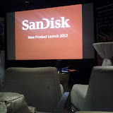SanDisk Product Launch July 2012