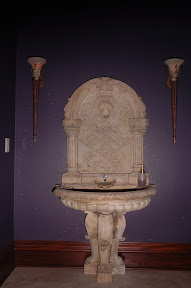 Interior, Kitchen & Bath, Sink, wall fountain