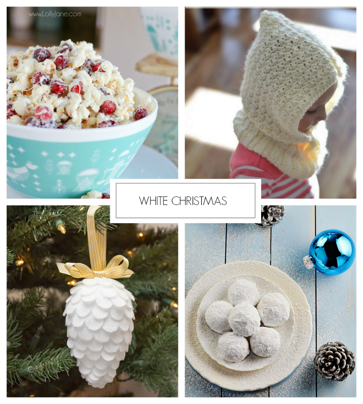 White Christmas featured from homework