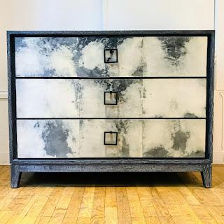 Goatskin Parchment Front Dresser