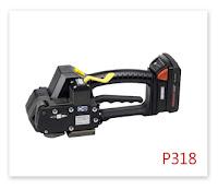 塑鋼帶電動打包機P318