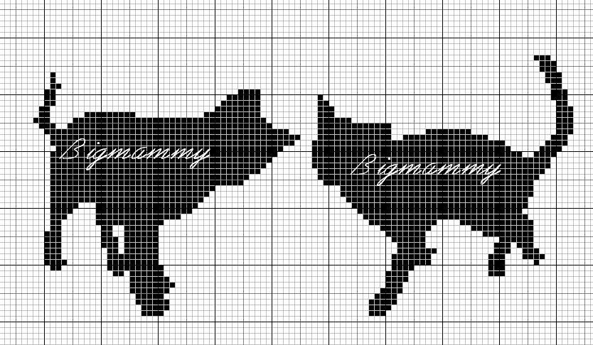 [siluetas+gatos+punto+de+cruz+monocromo++%285%29%5B2%5D]