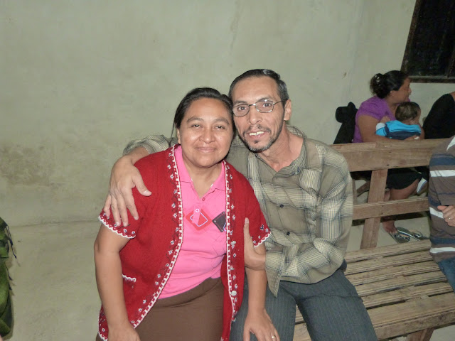 Pastor Rudy and his wife