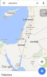 Google Maps a supprimé le nom de Palestine de ses cartes et l'a remplacé par Israël