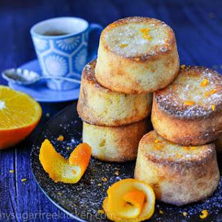 Sugar Free Orange and Almond Cake.