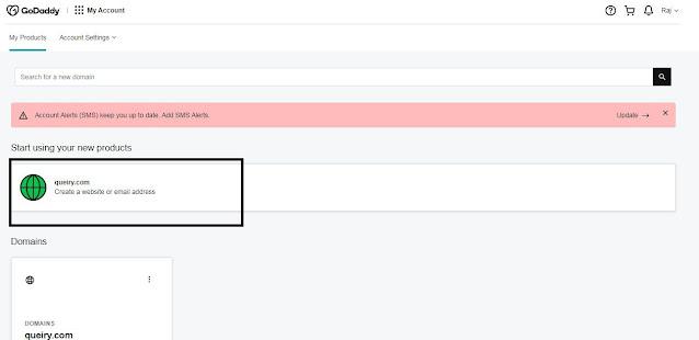 adding custom Domain in blogger godaddy,godaddy ka Domain Blogger Se kese Jode