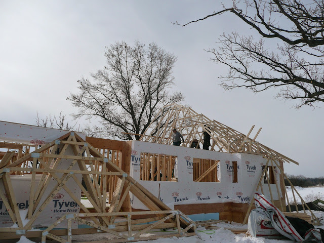 Building of new home in Waukesha, WI - P1030406.JPG