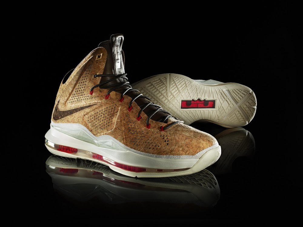 fdef88983434 Nike Honors The Champ with Nike LeBron X CORK Limited Edition
