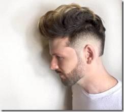 Kristenmichellehair cool medium length mens haircut