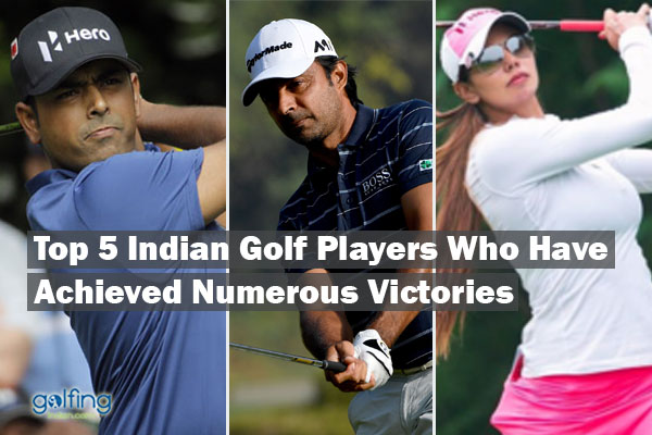 Top Indian golf players