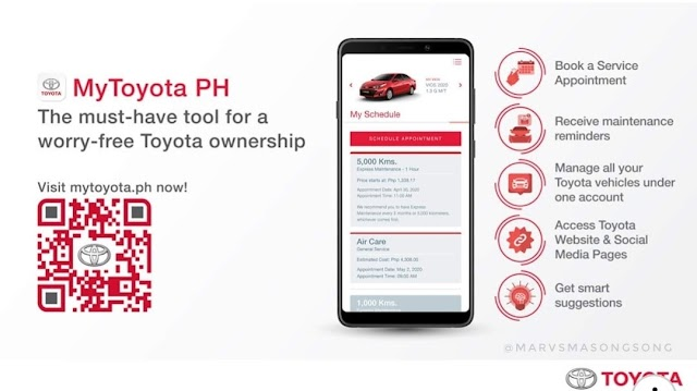 MyToyota.PH : Faster & Easy Service Appointment Booking for your TOYOTA!