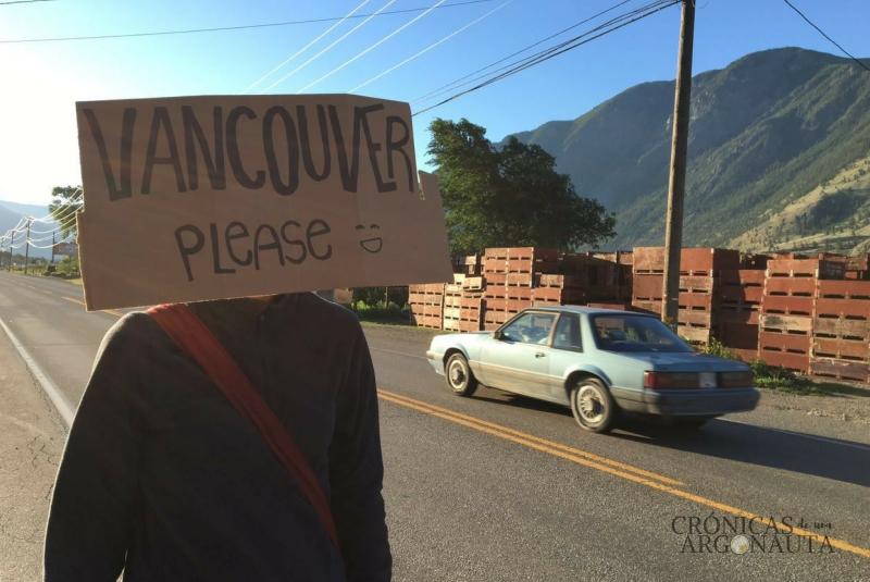 Autostop en Canadá
