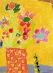 Chalk Pastel Still Life by Laura