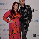OIC - ENTSIMAGES.COM - Jessica Cleemons and Lewis-Duncan Weedon at the UK Plus Size Fashion Week - DAY 2 - Catwalk Show Day  London 12th September 2015  Photo Mobis Photos/OIC 0203 174 1069