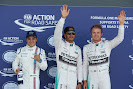 Top 3 qualifiers: 1. Hamilton 2. Rosberg 3. Massa