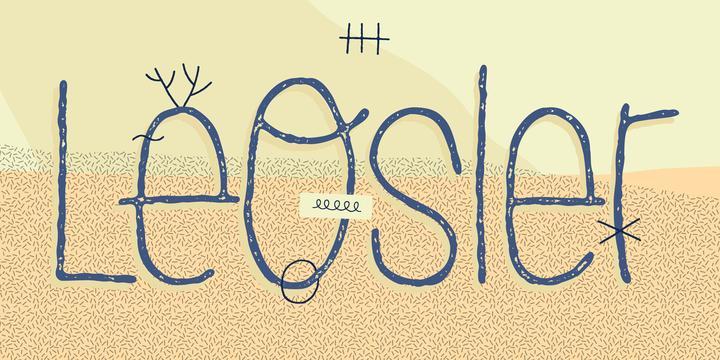 Download LeOsler Font Family From Antipixel